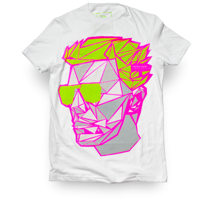 Head of David Neon Graphic Men's t-shirt