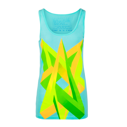 Impossible Love Neon Graphic Women's Tank top