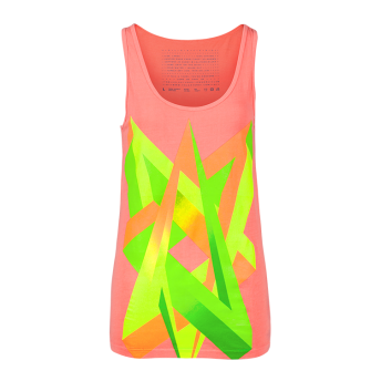 Impossible Love — Neon Graphic Tank top by Volga Verdi
