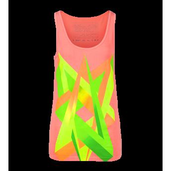Impossible Love — Neon Graphic Tank top by Volga Verdi