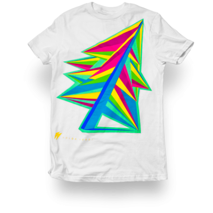 Arbre Solaris Neon Graphic Men's t-shirt