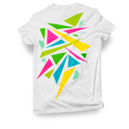 Exploder Neon Graphic Men's t-shirt