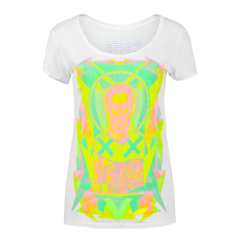 Nicole — Neon Graphic T-shirt by Volga Verdi