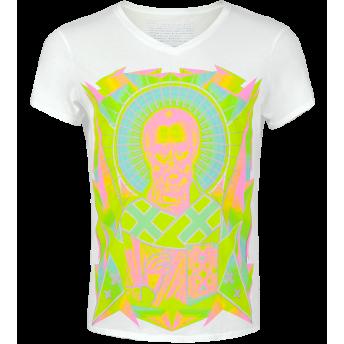 Nicolas — Neon Graphic T-shirt by Volga Verdi