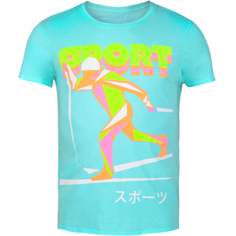 The Olympic — Neon Graphic t-shirt by Volga Verdi