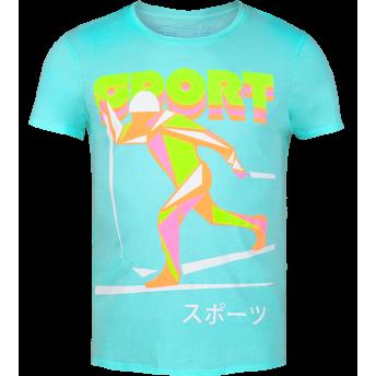 The Olympic — Neon Graphic t-shirt by Volga Verdi