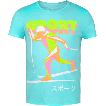 The Olympic Neon Graphic Men's t-shirt