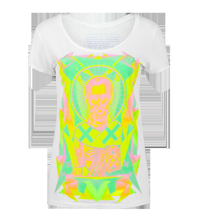 Nicole Volga Verdi Superbright Neon Clothing Graphic T Shirts